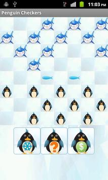 Penguin Checkers poster