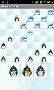 Penguin Checkers apk screenshot