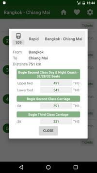 Thai Railway Tracking apk screenshot