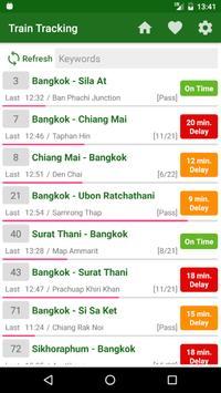 Thai Railway Tracking poster