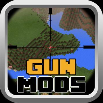 Guns Mods For MCPE poster