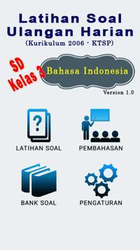 Bank Soal SD Kls 3 B Indonesia poster