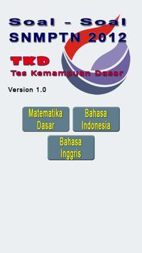 Soal SNMPTN 2012 TKD poster
