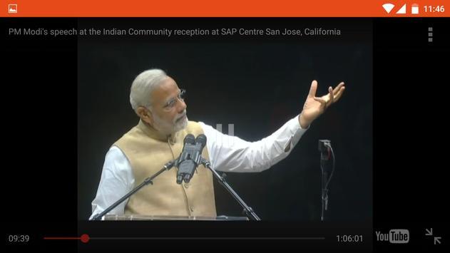 PM Narendra Modi videos apk screenshot