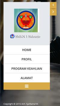 SMKN 1 Sidoarjo poster