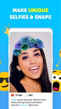 Banuba - Live Face Filters & Funny Video Effects screenshot 1