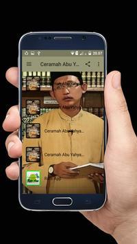 Ceramah Abu Yahya Badrusalam Populer Offline screenshot 1