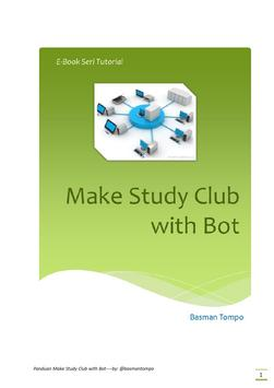 Ebook Bot Telegram poster