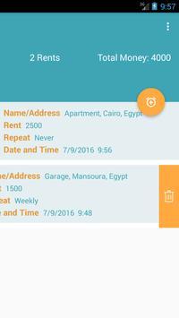 Rent Reminder screenshot 1