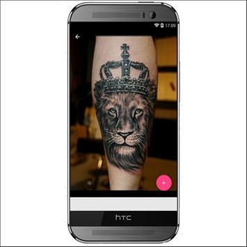 3D Lions Tattoo Design screenshot 3
