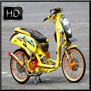 Modifikasi Thailook Honda Scoopy poster