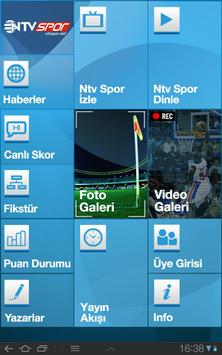 NTVSpor.net Tablet poster