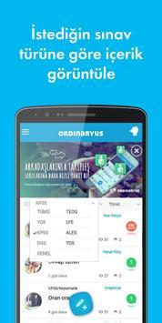Ordinaryus - LYS YGS KPSS TEOG apk screenshot
