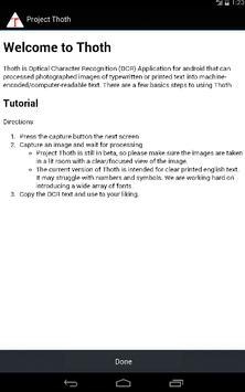 Project Thoth apk screenshot