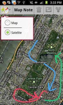 Map Note screenshot 1