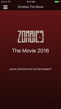 Zombies The Movie poster