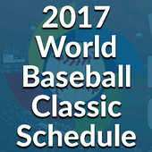 Free Schedule of Baseball 2017 icon