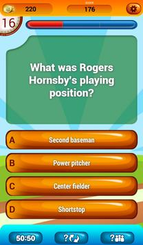Baseball Fun Trivia Quiz Game apk screenshot