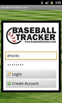 BaseballTracker.com Mobile poster