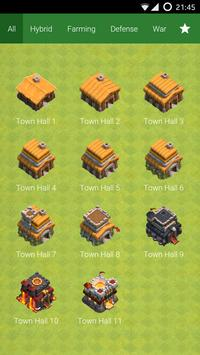Base Layout for Clash of Clans poster