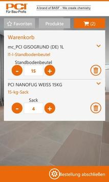 Order App PCI apk screenshot