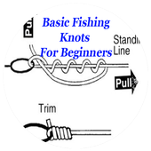 Basic fishing knots for beginners icon