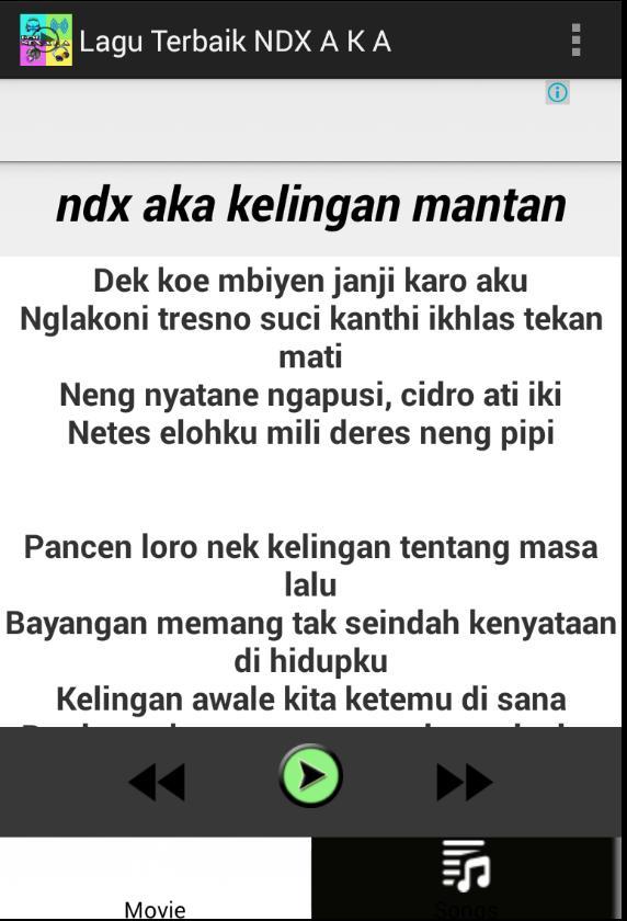 Bojoku Ketikung Lagu Ndx Aka Lengkap For Android Apk