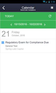 BasisCode Compliance apk screenshot