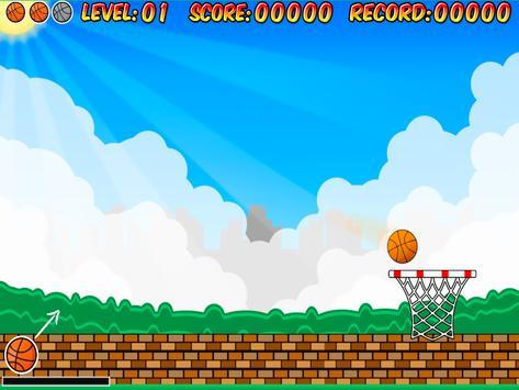 EasyFingerBasketball FreeThrow apk screenshot