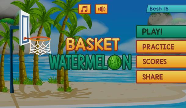 Basket Watermelon screenshot 2