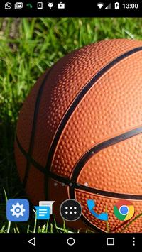 basketball ball live wallpaper screenshot 1