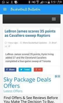 BasketballBulletin apk screenshot
