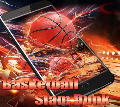 Basketball keyboard Theme poster