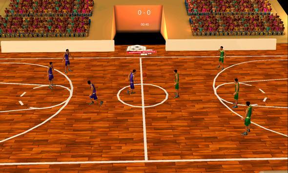 Basketball 3d apk screenshot