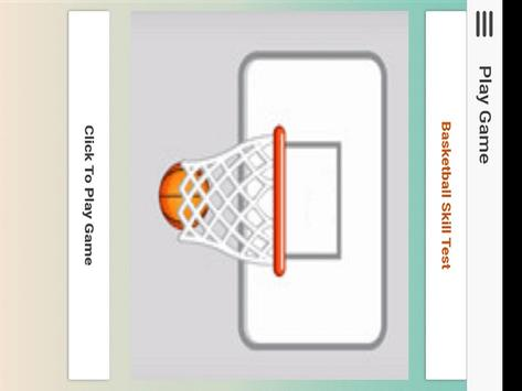 Basketball Shoot : Basketball Skills Game screenshot 4