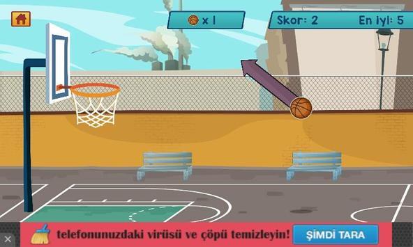 Basket Atışı HD apk screenshot