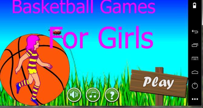 Basketball Games For Girls screenshot 1