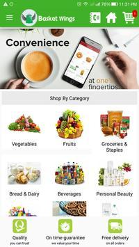 Basket Wings - Food & Groceries poster