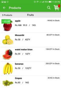 Basket Wings - Food & Groceries screenshot 1