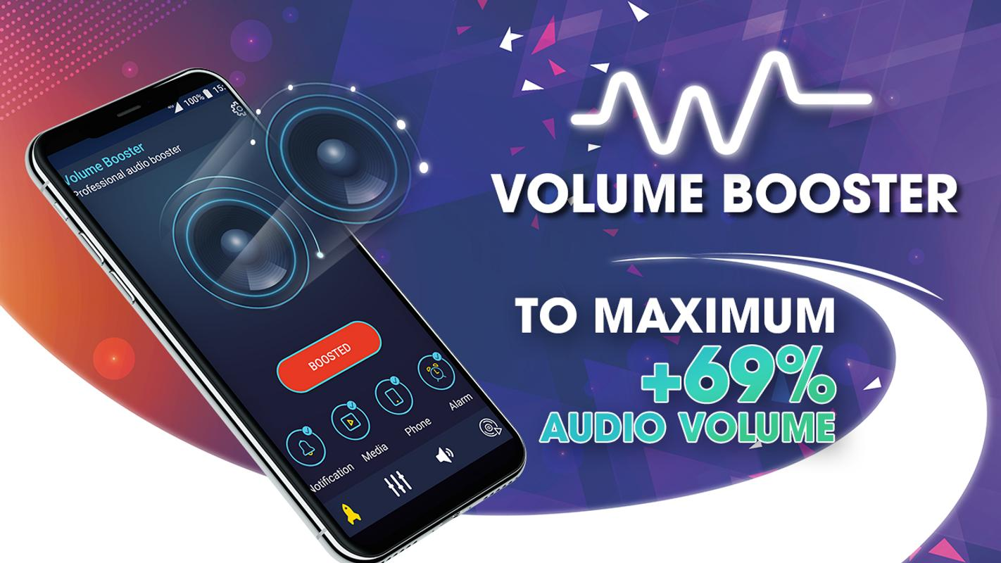 Super Sound Volume Booster Bass 2018 For Android Apk Audio Poster