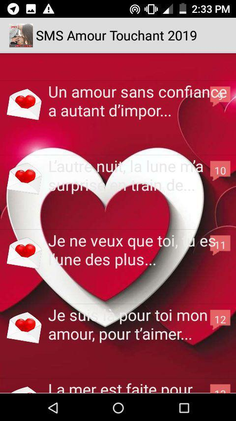 Sms Amour Touchant 2019 For Android Apk Download