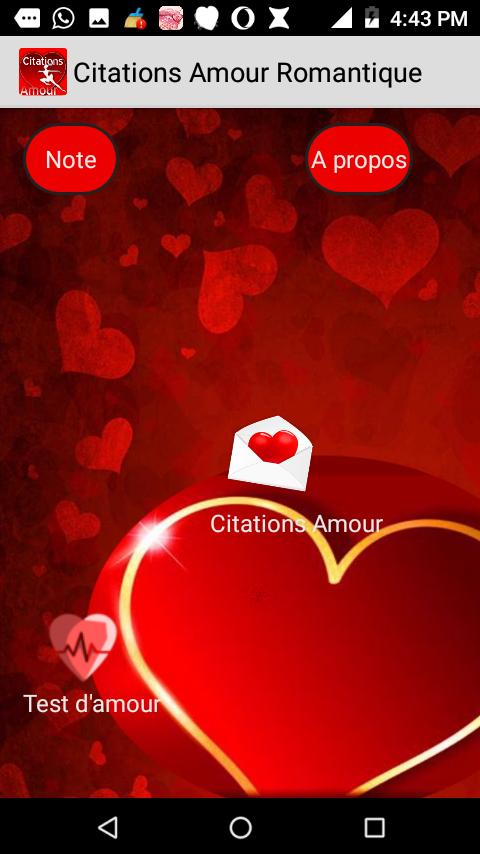 Citations Amour Romantique For Android Apk Download