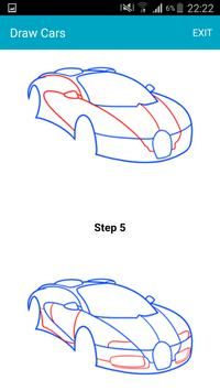 How To Draw Cars screenshot 1