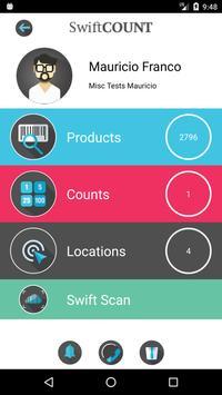 SwiftCOUNT screenshot 1