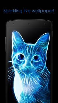 Neon cat screenshot 1