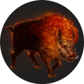 Wicked swine icon