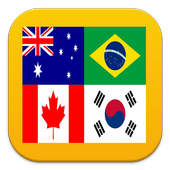 Quiz Logo : World Flags icon