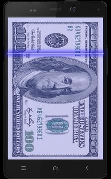 Fake Money Scanner Prank poster