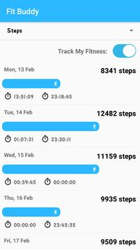 Fit Buddy:Your Fitness Tracker apk screenshot