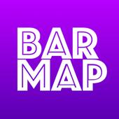 Bar map《酒吧地圖》酒吧 夜生活 資訊優惠娛樂一站式平台 icon